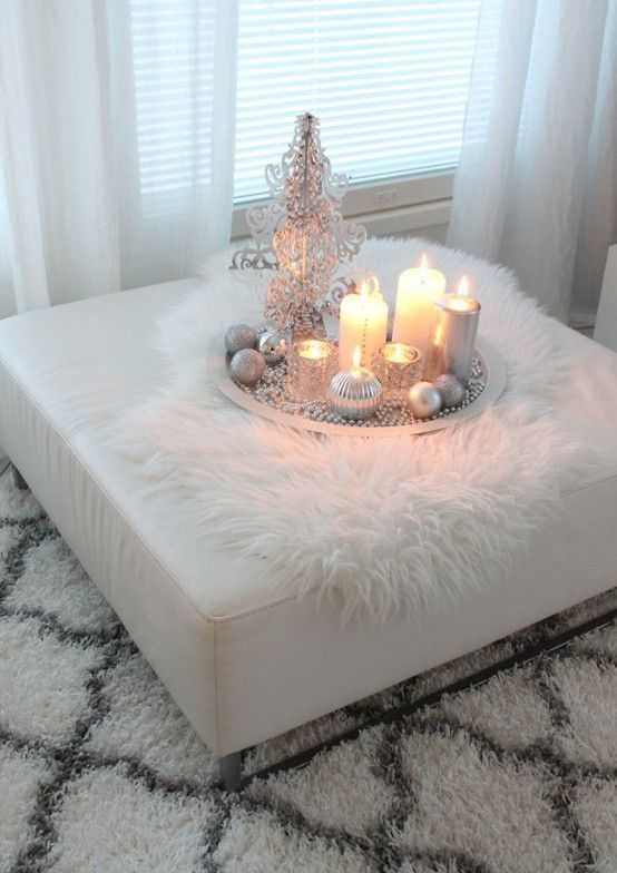 39 Cozy Fur Home Décor Ideas For Cold Seasons   DigsDigs   White .