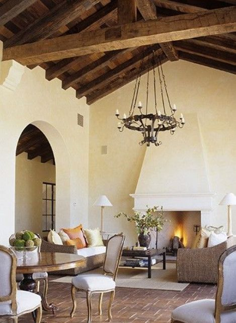 cozy-living-room-designs-with-exposed-wooden-beams-21 - DigsDigs .