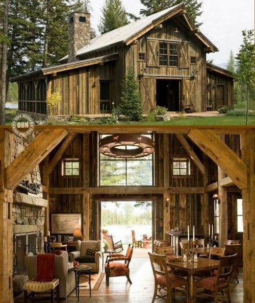 15 Cozy Barn Homes You Wish You Could Live In   Barn style house .