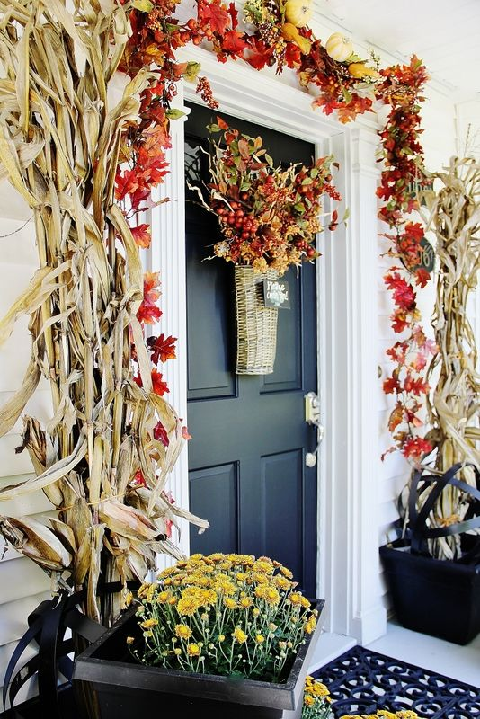 Interior Decorating and Home Design Ideas: 30 Cozy Thanksgiving .