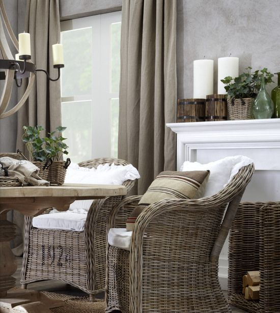 37 Cozy Wicker Touches For Your Home Décor - DigsDi