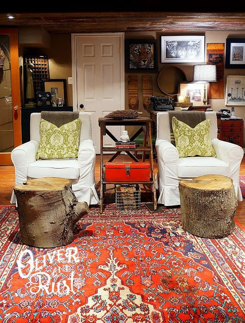 Eclectic Home Tour - Oliver and Rust at Eclectically Vintage .