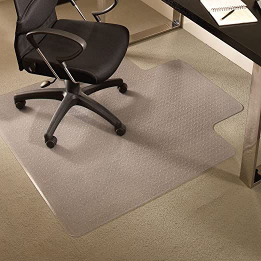Amazon.com: ES Robbins EverLife Chair Mat with Lip for Medium Pile .