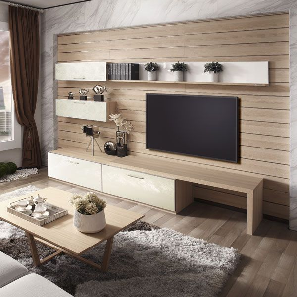 17 Outstanding Ideas For TV Shelves To Design More Attractive .