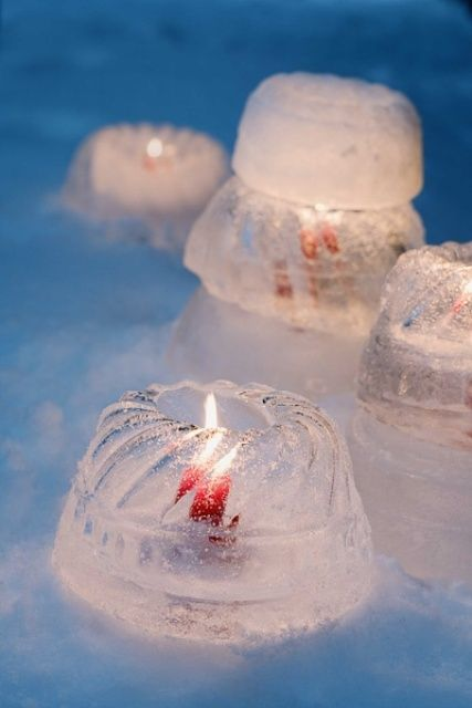 27 COZY ICE CHRISTMAS DECORATIONS FOR OUTDOORS | Christmas .