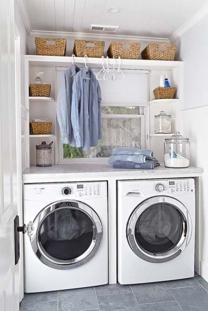 33 Creative Laundry Spaces You Should Have A Look At | Laundry .