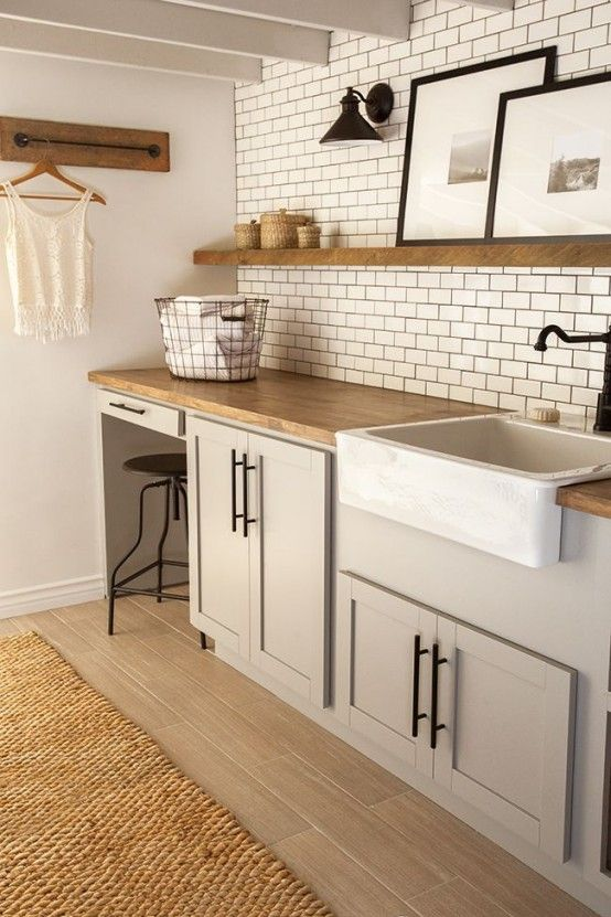 Creative Laundry Spaces You Should Have A Look At | Laundry room .