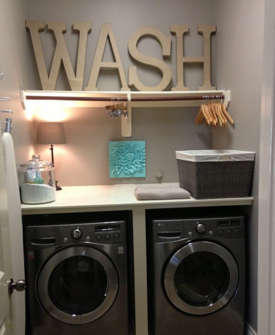 33 Creative Laundry Spaces You Should Have A Look At - DigsDi