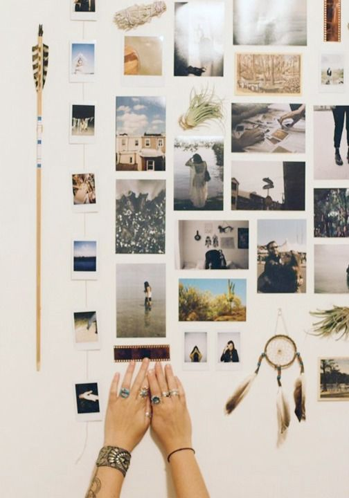 17 Totally Untraditional, Unique Ways to Hang Pictures on Your .