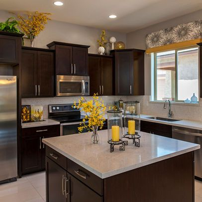 Yellow Accents Kitchen Design Ideas, Pictures, Remodel and Decor .