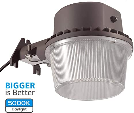 Amazon.com: TORCHSTAR Dusk to Dawn Area Light with Photocell .