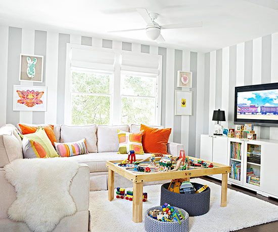 Living Room Decorating and Design   Living room playroom, Family .