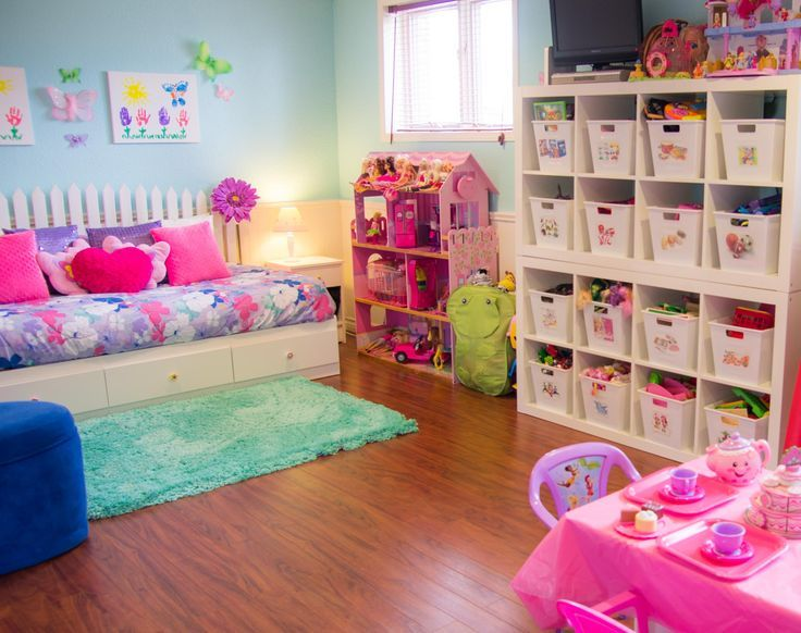 An Organized Playroom   Box Room Decorating Ideas   Small Bedrooms .