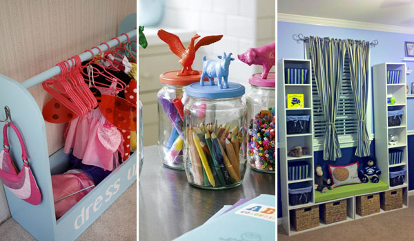 28 Genius Ideas and Hacks to Organize Your Childs Room - Amazing .