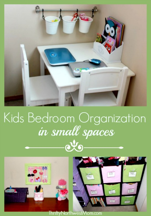Frugal Tips for Organizing Kids Rooms - Thrifty NW M