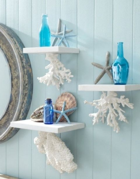 Decorating With Sea Corals: 34 Stylish Ideas   DigsDigs   Beach .