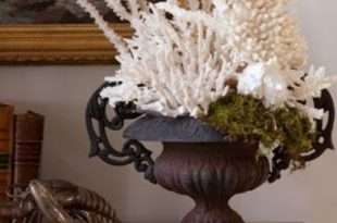 Decorating With Sea Corals: 34 Stylish Ideas | DigsDigs | Beach .