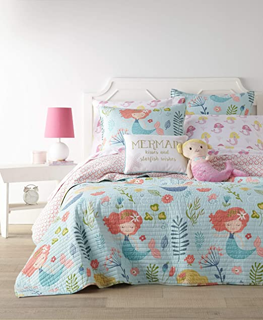 Amazon.com: Levtex Home - Andrina Quilt Set -Twin Quilt + One .