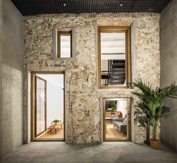 Photo 1 of 13 in This Double-Height Apartment in Barcelona .