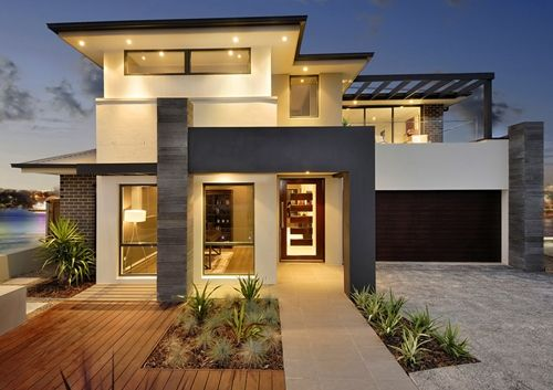 dramatic contemporary exteriors - Google Search - Modern Home .
