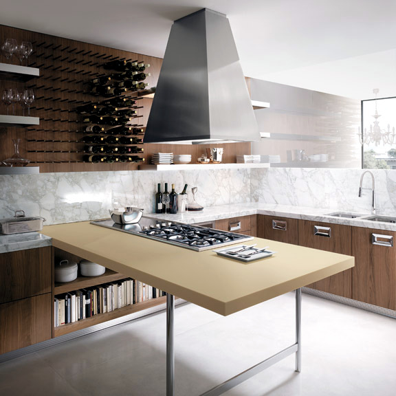 The Barrique Kitchen Design – The dream of every wine lover .