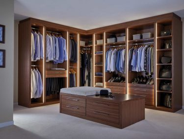 Bespoke Luxury Fitted Dressing Rooms Designs Handcrafted by Strach