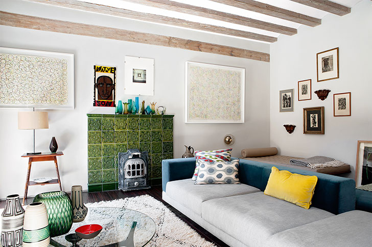 Cheerful eclectic apartment in Barcelona 〛 ◾ Фото ◾Идеи◾ Дизай