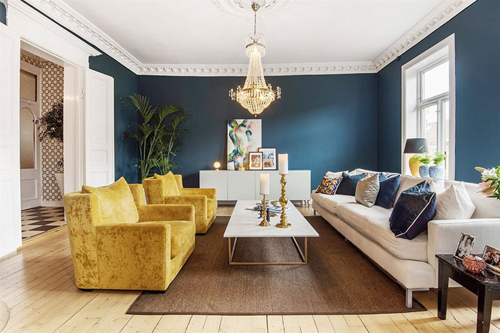 Colorful eclectic apartment in Oslo, Norway 〛 ◾ Фото ◾Идеи◾ Дизай