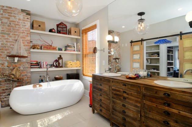 17 Of The Most Awesome Eclectic Bathroom Desig