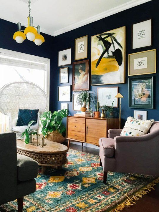 The New Living Room: 4 Top Trends | New living room, Eclectic home .