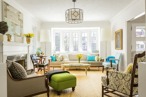 Colorful Toronto House Tour - Eclectic Home Decorating Ide