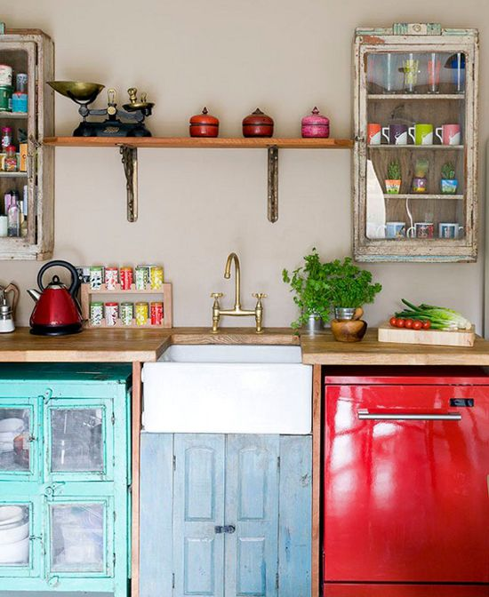 Kitchens On a Budget   Eclectic kitchen, Freestanding kitchen .