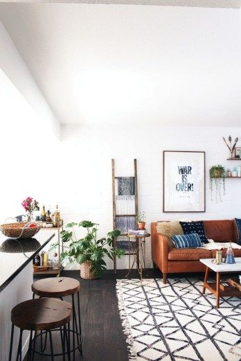 Eclectic And Quirky Living Room Decor Styling Ideas (60) | Dining .