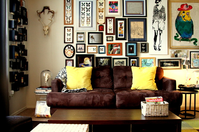 My Houzz: Quirky Art and Oddities Intrigue in an Ohio Rent