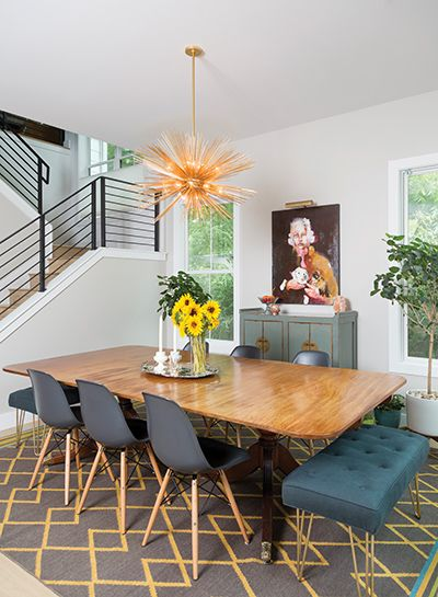 Infused with Personality - Austin Monthly Magazine | Eclectic home .