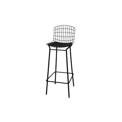 Manhattan Comfort Madeline Black Tall (36-in and Up) at Lowes.c