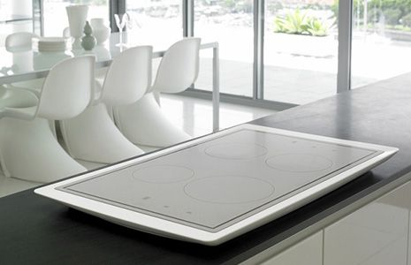 Electrolux Aurora - induction cooktop with Corian base   Induction .