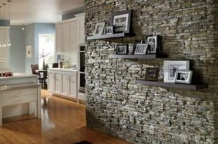 31 Eye-Catching Textured Accent Walls For Every Space   Stone .