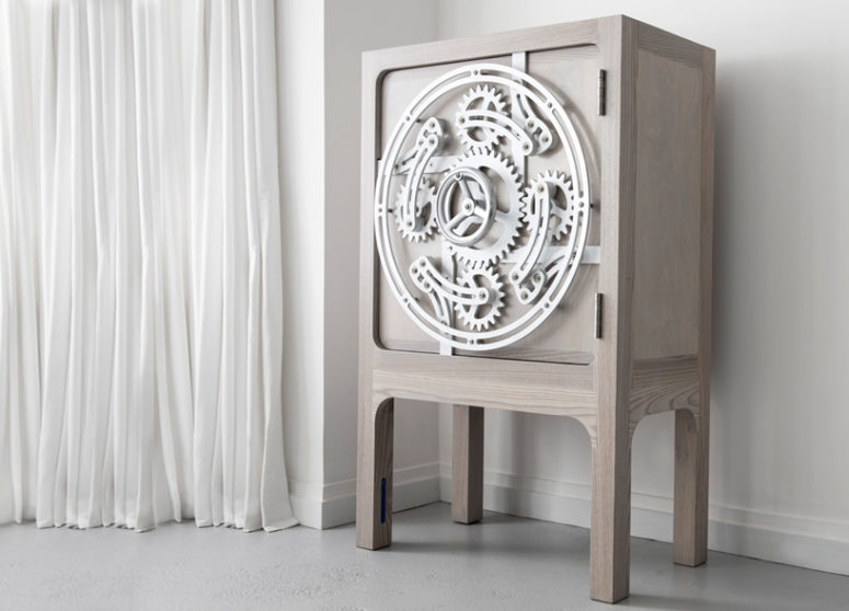 Whimsy Safe Cabinet Inspired By Safety Vaults - DigsDi