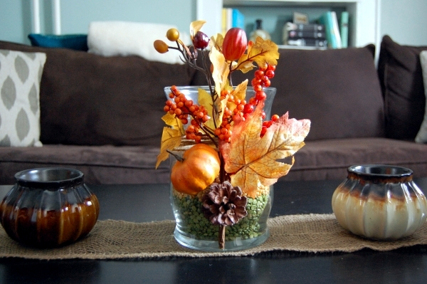 30 ideas for fall decorations on the coffee table in the living .