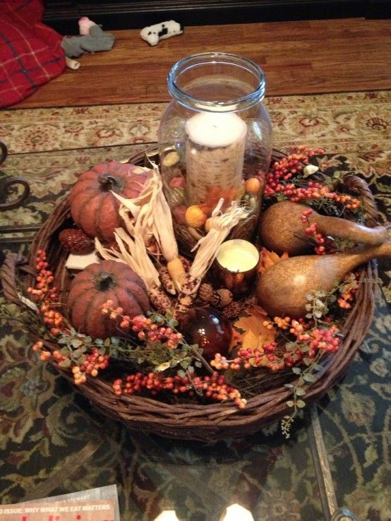 43 Fall Coffee Table Décor Ideas   DigsDigs   Decorating coffee .