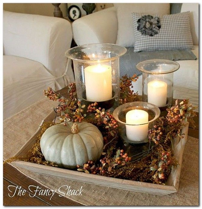 100+ Fall Coffee Table Decorations Ideas - The Urban Interior .