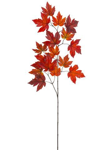 Red Burgundy Fake Fall Maple Leaves for Autumn Home Decor   Fall .