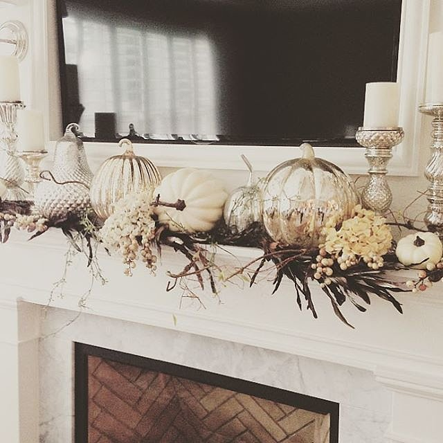 87 Exciting Fall Mantel Décor Ideas - Shelterne