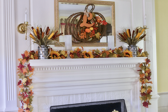 Decorating Mantel Ideas For Fall Decor : Change Up Your Dec