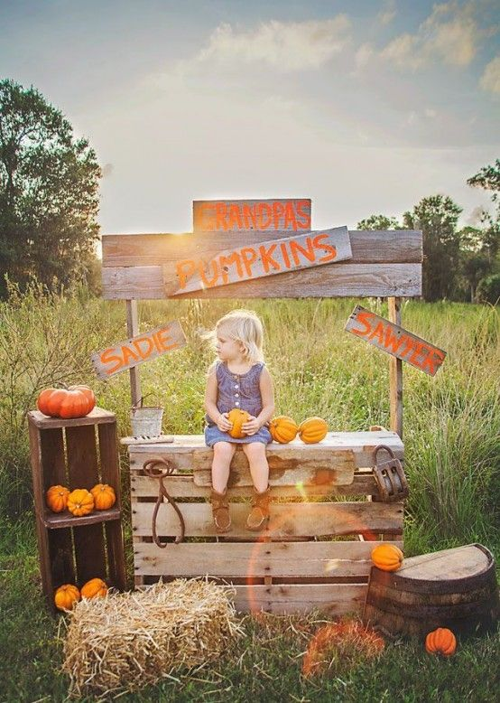 21 Fall Pumpkin Stands For Outdoor And Indoor Décor - DigsDigs .