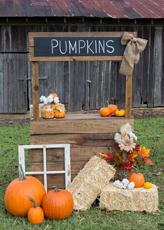 21 Fall Pumpkin Stands For Outdoor And Indoor Décor | Diy .