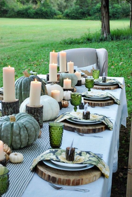 90 Cool Fall Table Settings For Special Occasions And Not Only .