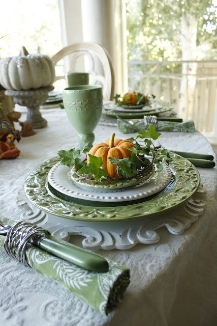 71 Cool Fall Table Settings For Special Occasions And Not Only .
