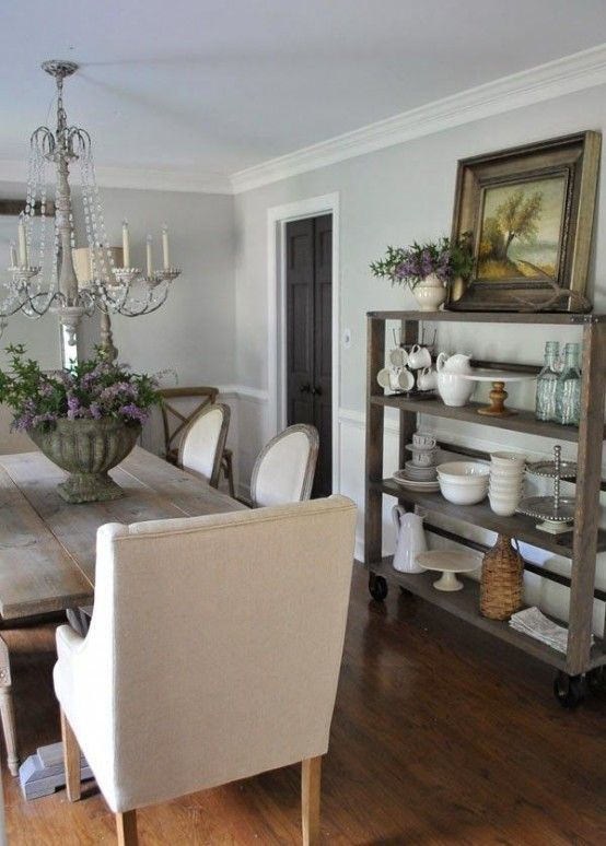 62 Farmhouse Dining Rooms And Zones To Get Inspired | Farmhouse .